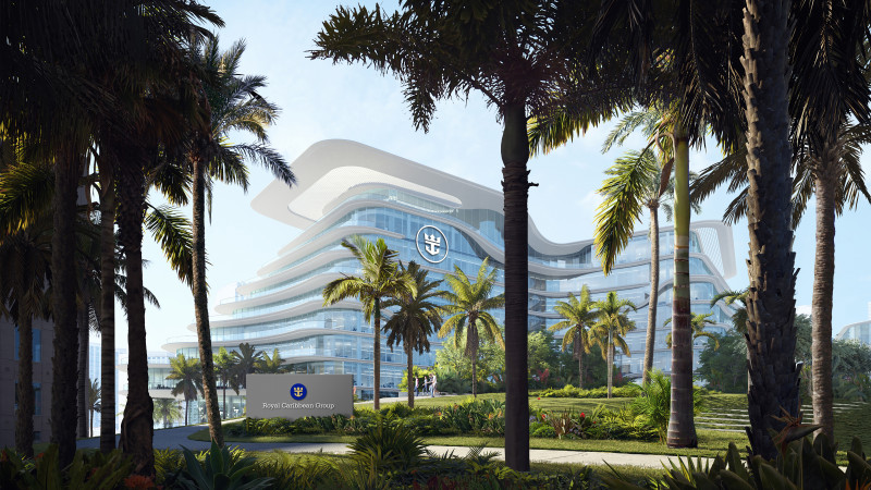 Royal Caribbean Group's new headquarters in Miami.